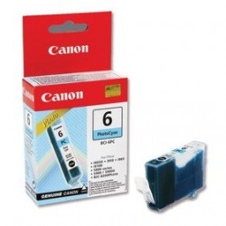 КАРТРИДЖ CANON BCI-6PC, (F47-3271-300), ФОТО, СИН.