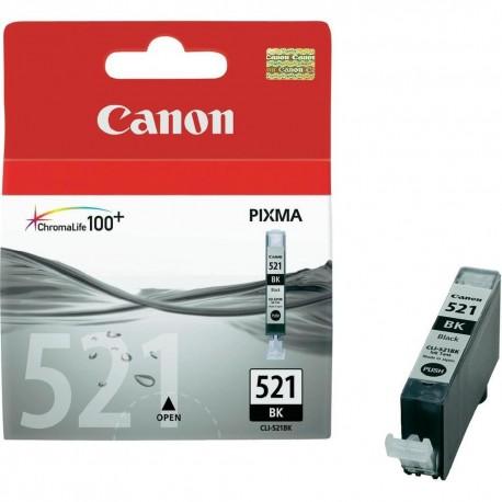 КАРТРИДЖ CANON CLI-521BK, (2933B001/2933B004), ЧЕРН.
