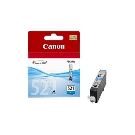 КАРТРИДЖ CANON CLI-521C, (2934B001/2934B004), СИН.