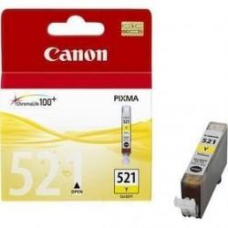 КАРТРИДЖ CANON CLI-521Y, (2936B001/2936B004), ЖЕЛТ.