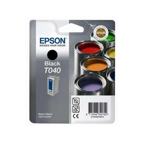 КАРТРИДЖ EPSON ST. C62, (T040140), ЧЕРН.