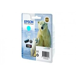 КАРТРИДЖ EPSON EXPRESSION HOME XP600, (T26124010), СИН.