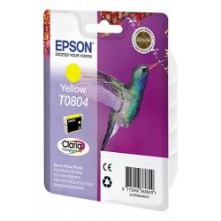 КАРТРИДЖ EPSON ST. PHOTO P50, (T08044010), ЖЕЛТ.
