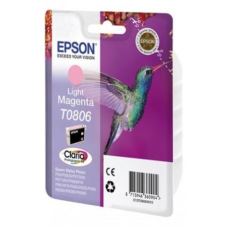 КАРТРИДЖ EPSON ST. PHOTO P50, (T08064010), СВ. КРАС.