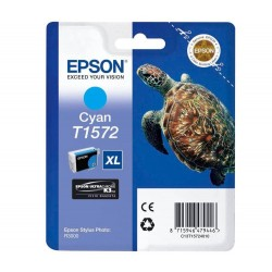 КАРТРИДЖ EPSON ST. PHOTO R3000, (T15724010), СИН.