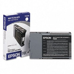 КАРТРИДЖ EPSON ST. PRO 4000/4800, (T543800), МАТ. ЧЕРН.