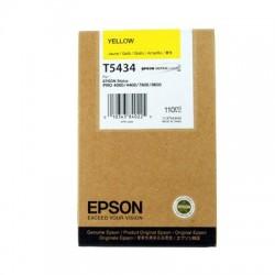 КАРТРИДЖ EPSON ST. PRO 4000, (T543400), ЖЕЛТ.