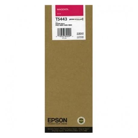 КАРТРИДЖ EPSON ST. PRO 4000, (T544300, MAX), КРАС.