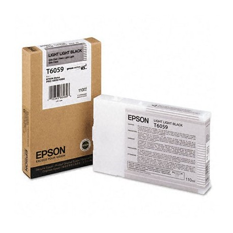 КАРТРИДЖ EPSON ST. PRO 4880, (T605900), СВ. СВ. ЧЕРН.