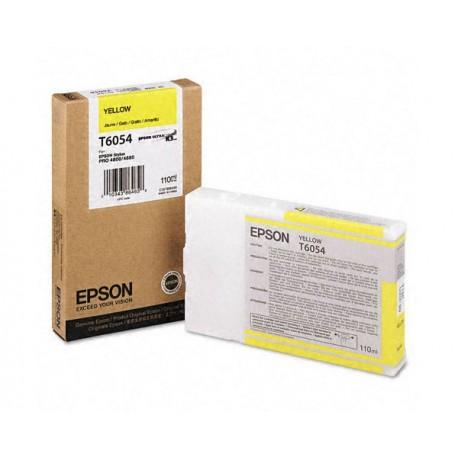 КАРТРИДЖ EPSON ST. PRO 4880, (T605400), ЖЕЛТ.