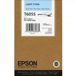 КАРТРИДЖ EPSON ST. PRO 4880, (T605500), СВ. СИН.