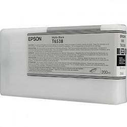 КАРТРИДЖ EPSON ST. PRO 4900, (T653800), МАТ. ЧЕРН.