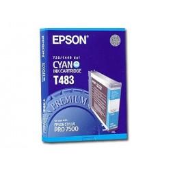 КАРТРИДЖ EPSON ST. PRO 7500, (T483011), СИН.