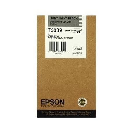 КАРТРИДЖ EPSON ST. PRO 7800, (T563900/T603900), СВ. СВ. ЧЕРН.