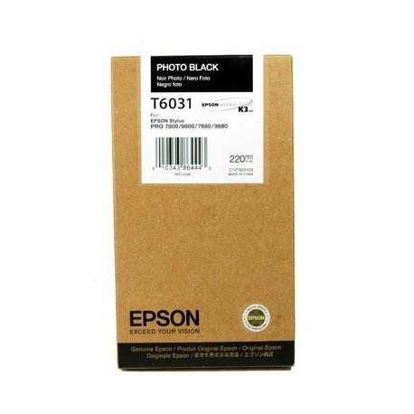 КАРТРИДЖ EPSON ST. PRO 7800, (T563100/T603100), ФОТО ЧЕРН.
