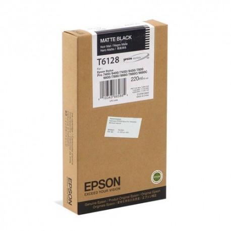 КАРТРИДЖ EPSON ST. PRO 7800/7400, (T612800), МАТ. ЧЕРН.
