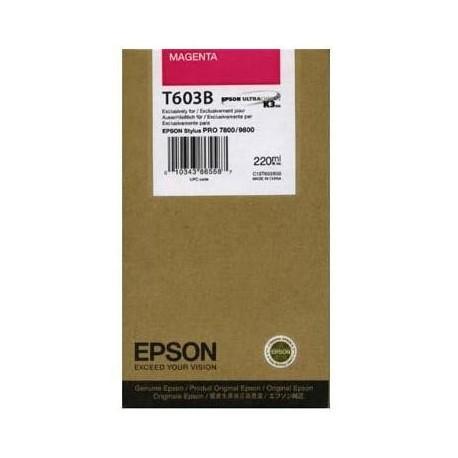 КАРТРИДЖ EPSON ST. PRO 7800, (T563300/T603B00), КРАС.