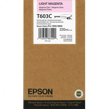 КАРТРИДЖ EPSON ST. PRO 7800, (T563600/T603C00), СВ. КРАС.