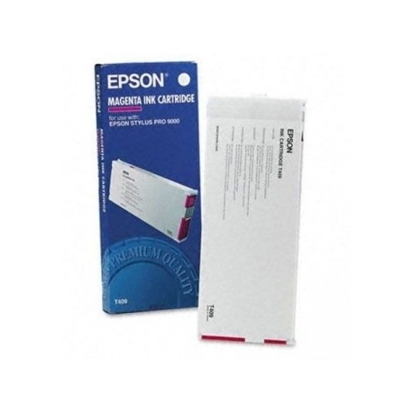 КАРТРИДЖ EPSON ST. PRO 9000, (T409011), КРАС.