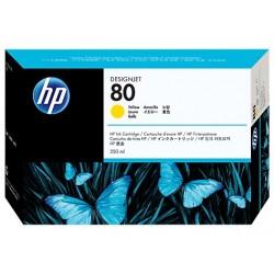 КАРТРИДЖ HP C4848A, (№80, XL), ЖЕЛТЫЙ