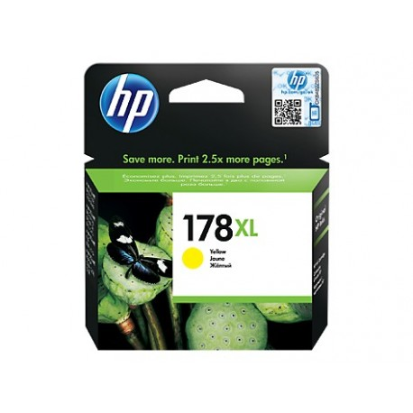 КАРТРИДЖ HP CB325HE, (№178, XL), ЖЕЛТЫЙ
