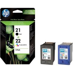 КОМПЛЕКТ КАРТРИДЖЕЙ HP SD367AE, (C9351AE (№21) + C9352AE (№22))