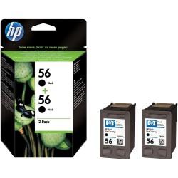 КОМПЛЕКТ КАРТРИДЖЕЙ HP C9502AE, (C6656AE (№56), 2-PACK)