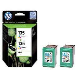 КОМПЛЕКТ КАРТРИДЖЕЙ HP CB332HE, (C8766HE (№135), 2-PACK)