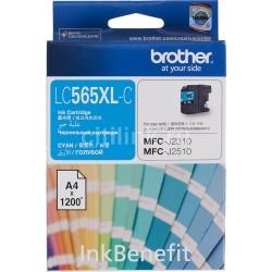 КАРТРИДЖ BROTHER MFC-J2310, (LC565XLC), СИНИЙ, (MAX)