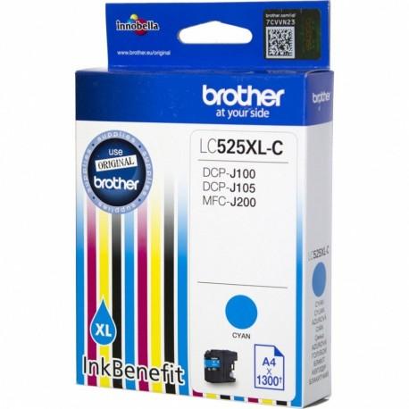 КАРТРИДЖ BROTHER DCP-J100, (LC525XLC), СИНИЙ, (MAX)