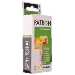 КАРТРИДЖ CANON CLI-426Y, (PN-426Y, PATRON), ЖЕЛТ.