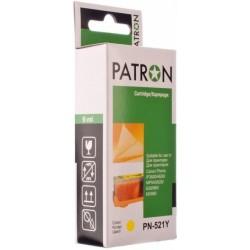 КАРТРИДЖ CANON CLI-521Y, (PATRON), ЖЕЛТ.