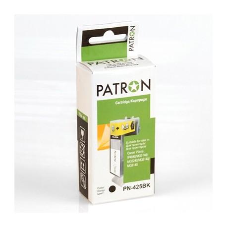 КАРТРИДЖ CANON PGI-425BK, (PN-425BK, PATRON), ЧЕРН.