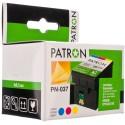 КАРТРИДЖ EPSON ST. C42, (T037040/PN-037, PATRON), ЦВ.