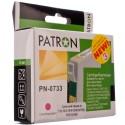 КАРТРИДЖ EPSON ST. C79/110/T30, (T07334A/PN-0733, №3, PATRON), КРАС.