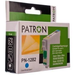 КАРТРИДЖ EPSON ST. SX420, (T12824010/PN-1282, PATRON), СИН.