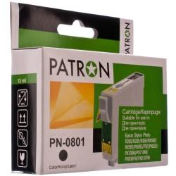 КАРТРИДЖ EPSON ST. PHOTO P50, (T08014010/PN-0801, PATRON), ЧЕРН.