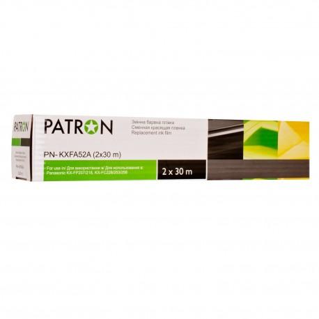 ТЕРМОПЛЕНКА PANASONIC KX-FA52A (2X30М), PATRON