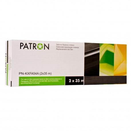 ТЕРМОПЛЕНКА PANASONIC KX-FA54A (2X35М), PATRON