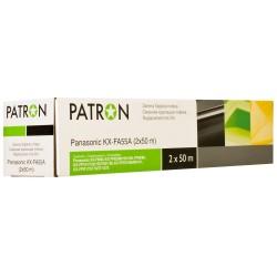 ТЕРМОПЛЕНКА PANASONIC KX-FA55A (2X50М), PATRON