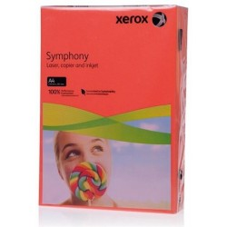БУМАГА XEROX SYMPHONY INTENSIVE DARK RED, (003R93954, 80 Г/М), A4, 500 Л