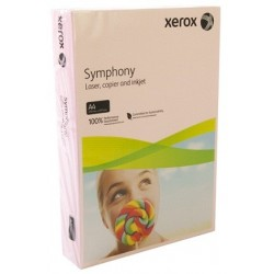 БУМАГА XEROX SYMPHONY PASTEL PINK, (003R92306, 160 Г/М), A4, 250 Л