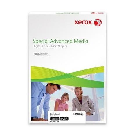 КАРТОЧКИ XEROX DOCUCARD WHITE A4 178MKM 100Л. // КОД: 003R97246