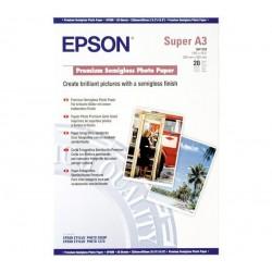 БУМАГА Д/СТРУЙНЫХ EPSON, (S041328, 250 Г/М), A3+, 20Л