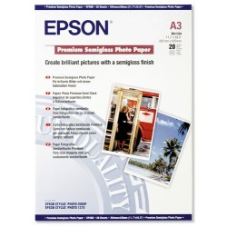 БУМАГА Д/СТРУЙНЫХ EPSON, (S041334, 162 Г/М), A3, 20Л