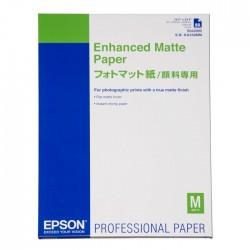 БУМАГА EPSON A2 ENHANCED MATTE PAPER, 25 Л // КОД: C13S042095