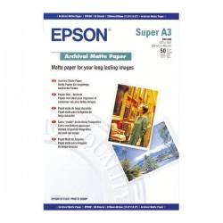 БУМАГА EPSON A3+ ARCHIVAL MATTE PAPER 50Л. // КОД: C13S041340