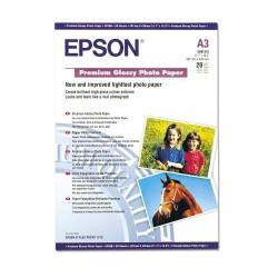 БУМАГА EPSON A3+ PREMIUM GLOSSY PHOTO PAPER 20Л. // КОД: C13S041316