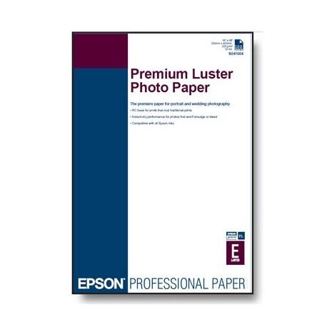 БУМАГА EPSON A3+ PREMIUM LUSTER PHOTO PAPER, 100 Л // КОД: C13S041785