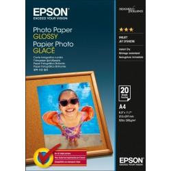 БУМАГА EPSON GLOSSY PHOTO PAPER A4 20 Л. // КОД: C13S042538